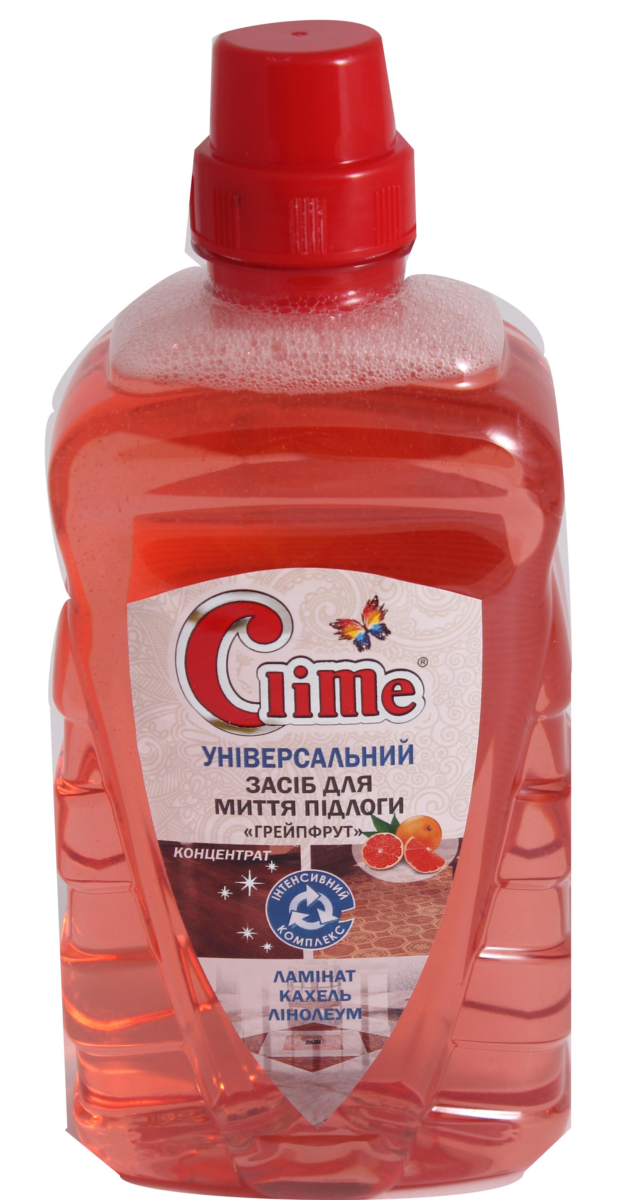 Clime Універс.конц.засіб для підлоги 1л Грейпфрут CFL1GF