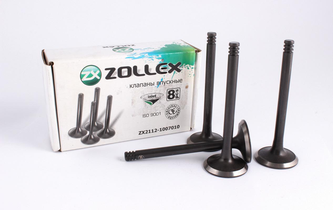 Zollex Клапан впускний Ваз 2112 ZX2112-1007010 к-т.