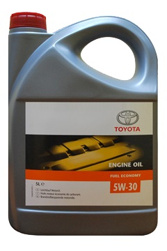 TOYOTA олива мот. 5W30 Fuel Economy 5л