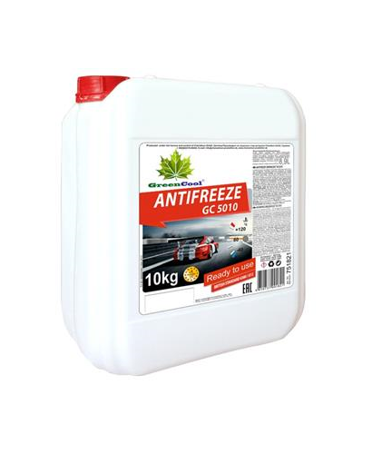 GreenCool  Антифриз  (красный) 10кг 751821