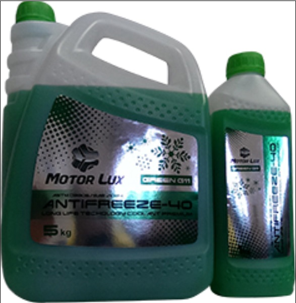 MotorLux Антифриз-32 зелений 5 кг