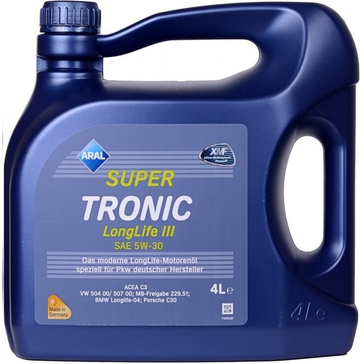 ARAL Масло мот. Super Tronic 5w30 LongLife lll 4л.
