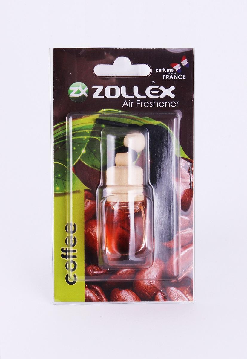 Zollex Осв. повітря авто 8мл Кава 13CF (дерев.пробочка)