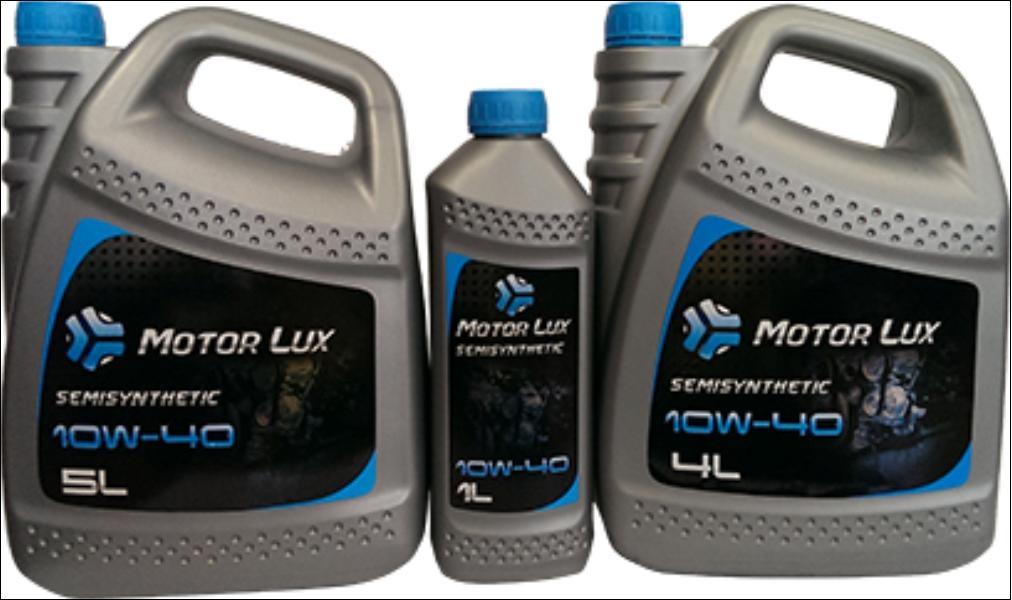 MotorLux олива Semisynt. 10w40 5л.