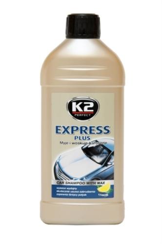 K2 Express Plus ЖОВТА - Автошампунь з воском 0,5 л