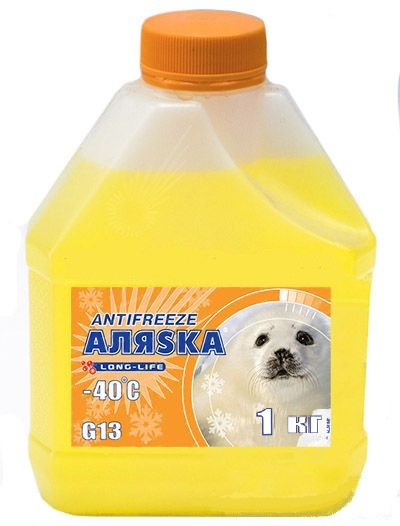 АЛЯСКА Антифриз-40 (жовтий) 1кг.
