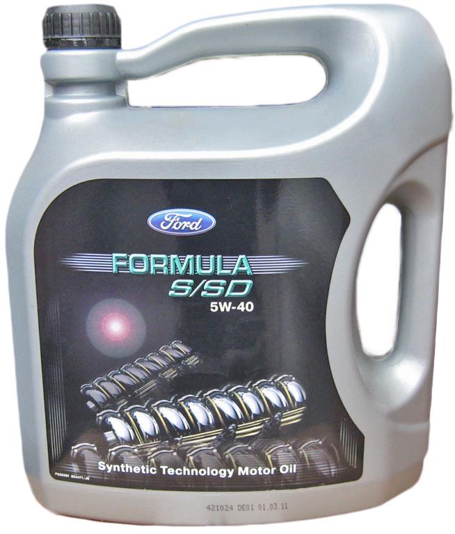 FORD олива мот. Formula S/SD 5W40 5л