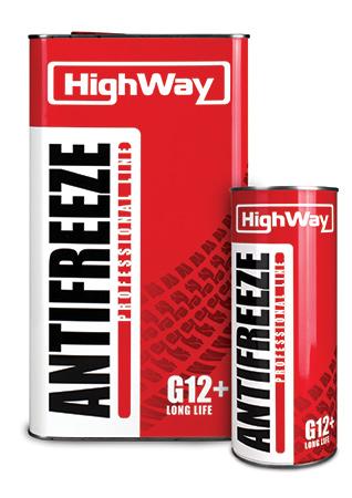 HighWay Антифриз-40 (червоний) 5кг G12+