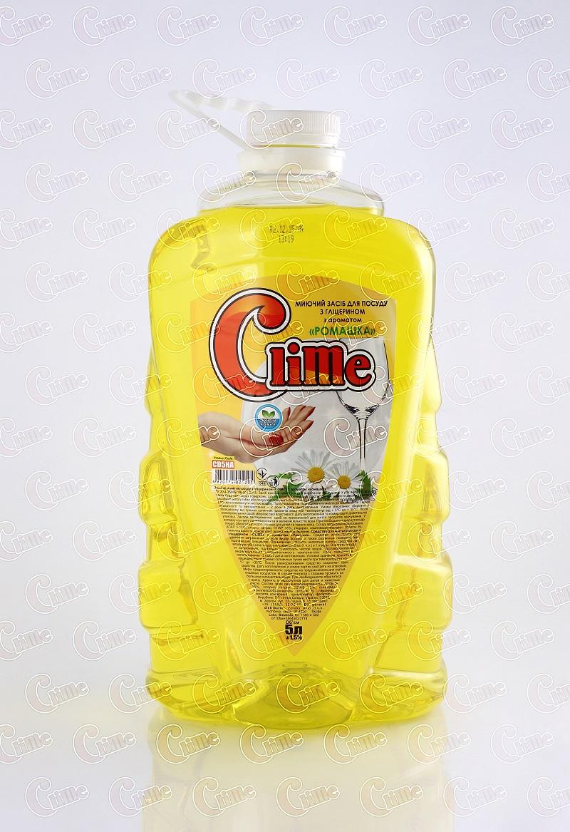 Clime Засіб миючий для посуду 5л Ромашка CD5HA