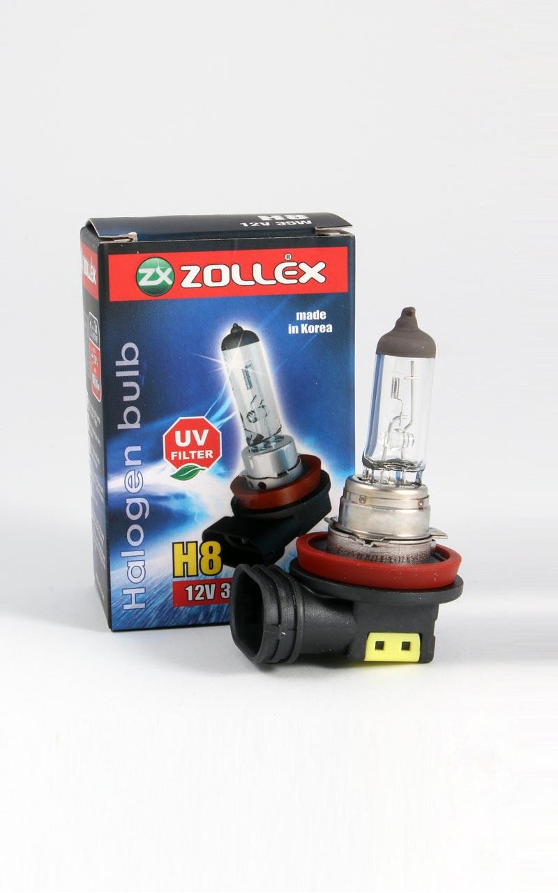 Zollex Лампа авто галоген. H8 12V 35W 59424