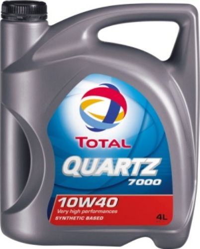 TOTAL Олива мот. QUARTZ 7000 10W40 4л A3 /B4