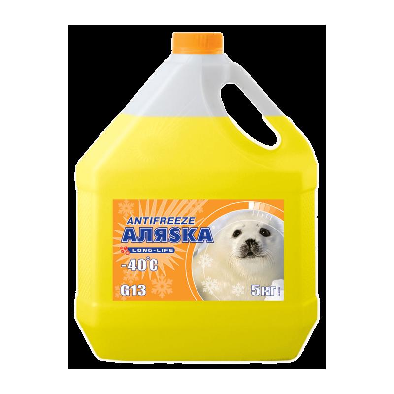АЛЯСКА Антифриз-40 (жовтий) 5кг.