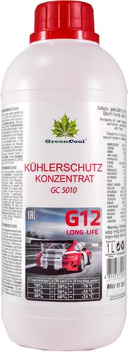 GreenCool Антифриз конц. (красный) 1л 702644