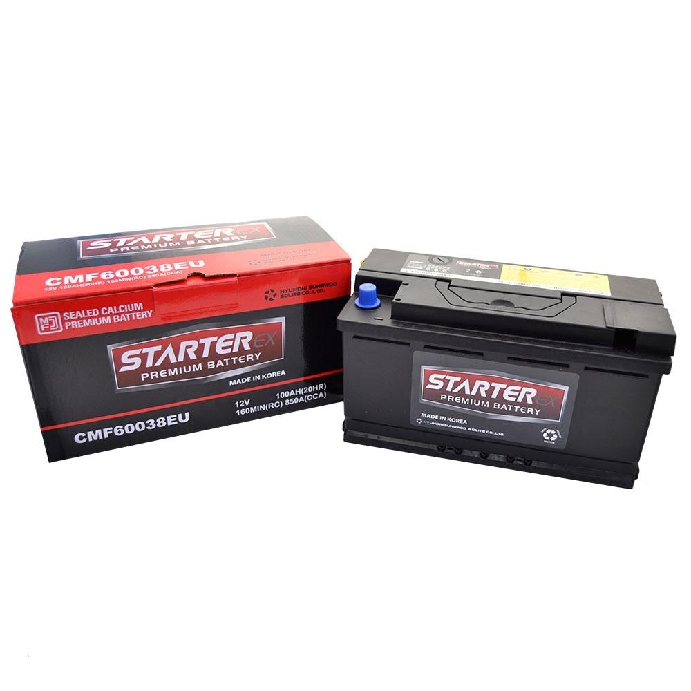 STARTER EX Акумулятор 100Ah (-/+) 850А CMF60038EU