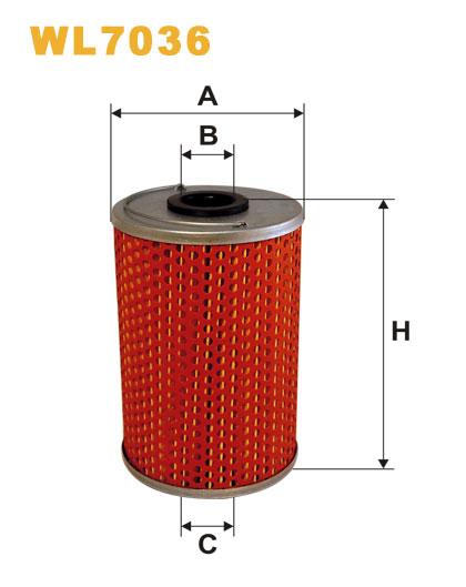 WIX WL7036 Фільтр масляний Filtron OM 516