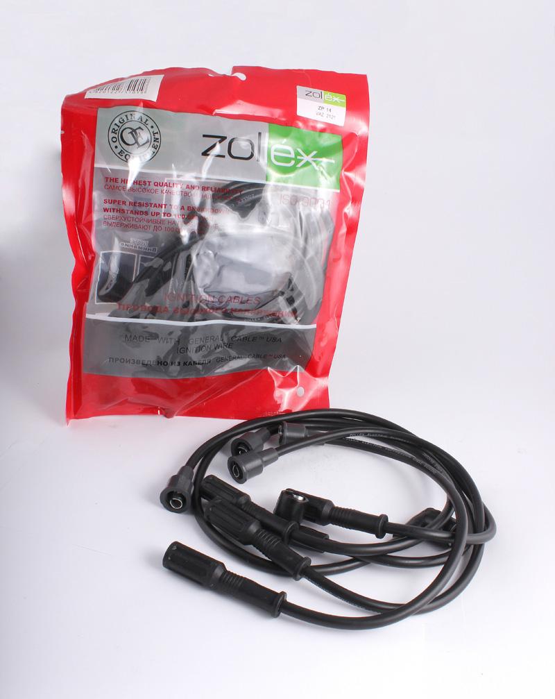Zollex Компл. проводів запалюв. 2121 (ZP-14)